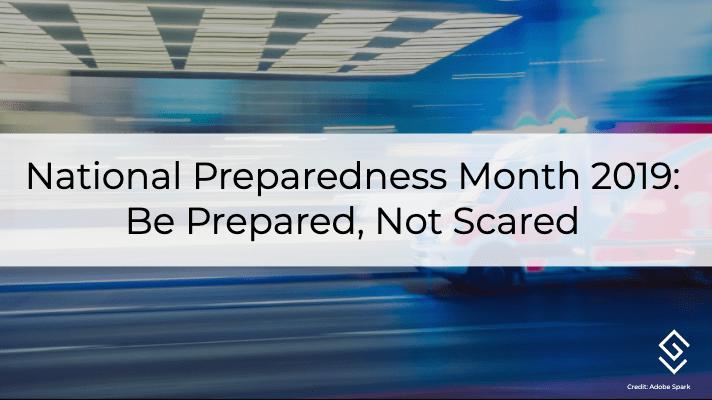 National Preparedness Month 2019